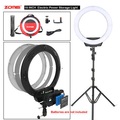 "16"" SMD LED Ring Light Dimmable Lighting Selfie Stand KIT for Camera Live Phone"