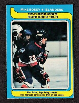 1979-80 MIKE BOSSY RB Most Goals #161 NM+ OPC Hall of Fame NYI Star Hockey Card