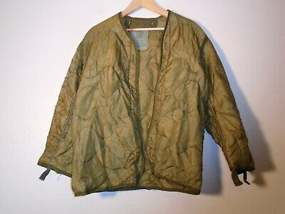 Usgi Us Military M-65 Field Jacket M65 Cold Weather Coat Liner Size X-Small
