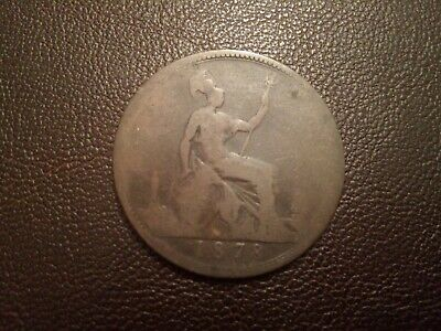 One Penny 1878 Queen Victoria - Coins - British