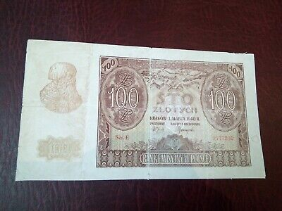 Poland - 100 Zlotych 1940 - Banknotes