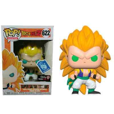 Funko POP DRAGON BALL Z SUPER SAIYAN GOTENKS Funko Club Exclusive ONLY GAMESTOP