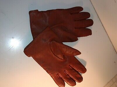A Pair Of Man's Leather Gloves