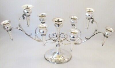 A Fine Silver Plated Epergne / Table Centrepiece - 1908 - Latham & Morton
