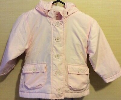 Gap Padded Pink Hooded  Coat Jacket  3yrs