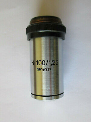 Microscope objective zeiss 100x/1.25 HI oil immersion