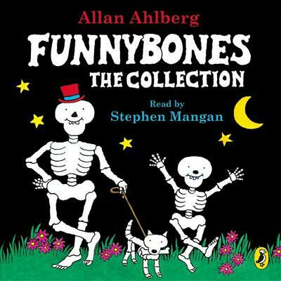 Funnybones: The Collection by Janet Ahlberg Compact Disc Book Free Shipping!