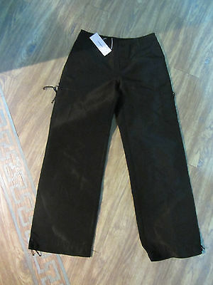 Cacharel girls Black trouser age 8 years RRP £60 NEW WITH TAGS