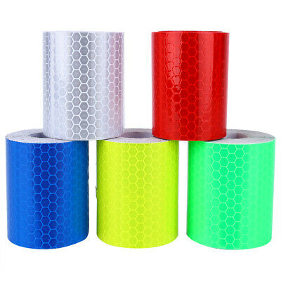 Reflective Conspicuity Tape Roll 5cmx3m Warning Sign Tape for Car Truck 5 Color