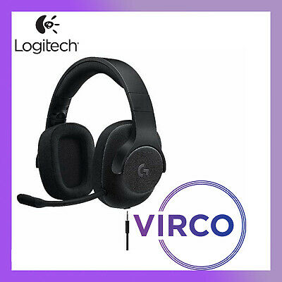 NEW Logitech G433 7.1 Wired Surround Gaming Headset 981-000670 Microphone PC PS4