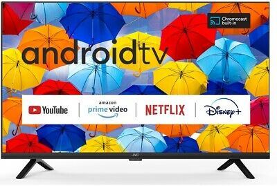 "JVC 32"" (81CM) Smart Edgeless LED TV Wi-Fi Netflix Youtube browsing LT-32N3105A"