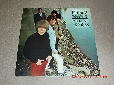 The Rolling Stones. Big Hits (High Tide & Green Grass). Abkco 322-1 (Like New)