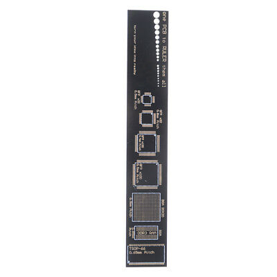15cm Multifunctional PCB Ruler Measuring Tool Resistor Capacitor Chip IC SMD  WD