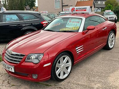 Chrysler Crossfire 3.2 auto  in met ruby red !!