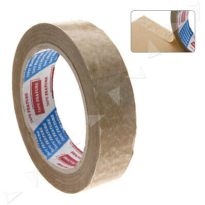 24mm x 50m Length Picture Framing Backing 25mm Tape Brown Self-Adhesive