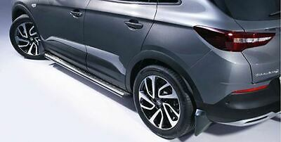 Vauxhall Opel GM Grandland X Both Side Step Running Boards 39156317