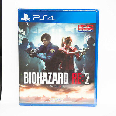 Resident Evil 2 RE:2 Bio Hazard 2 PlayStation PS4 English Chinese Japanese New