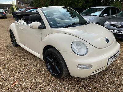 2004 VOLKSWAGEN BEETLE  Entry Beige Manual Petrol
