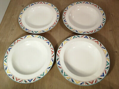 Villeroy & Boch - Indian Look - 4x Suppenteller - VB