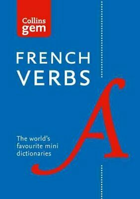 Collins Gem French Verbs by Collins Dictionaries 9780007224180 | Brand New