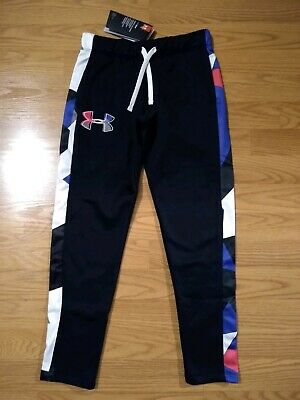 Under Armour ColdGear Girls Pants YSM Youth Small UA Black NEW NWT