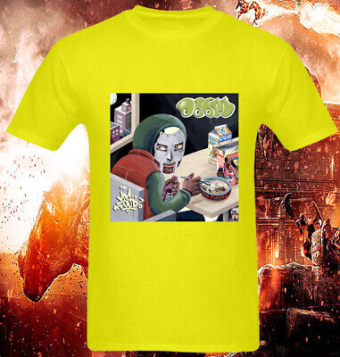 woman/'s available t shirt white Mf Doom Eating Cereal Rap Hip Hop MF Food men