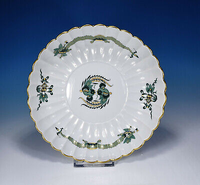 "Meissen "" Court Drache Dragon Green "" Bowl 20,5 Cm. 1.Wahl"