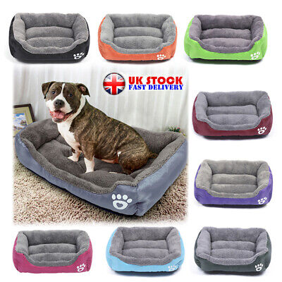 Dog Beds Pet Cushion House Waterproof Soft Warm Kennel Blanket Extra Large Gift