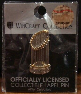 Houston Astros Washington Nationals World Series Trophy Collector Pin New