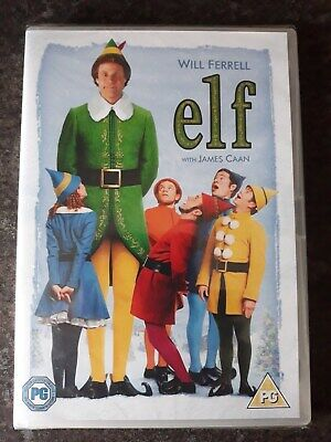 Original R2 Christmas Dvd - Elf - Will Ferrell - New & Sealed