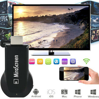 Mirascreen Wifi Display HDMI Dongle Media Wireless Android/ IOS/ Windows AH094