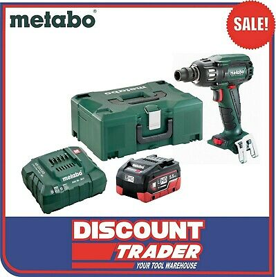 Metabo SSW 400 BL M 1 HD 18V 5.5Ah LiHD Brushless Impact Wrench Kit AU60220515