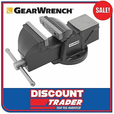 GearWrench Engineers Bench Vice 100mm 1.5T Clamp Force - 9080