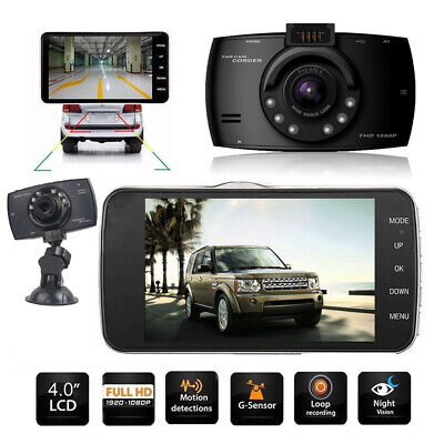 4 Auto Kamera Rearview Recorder KFZ DVR Dashcam HD 1080P Video Nachtsicht 170°