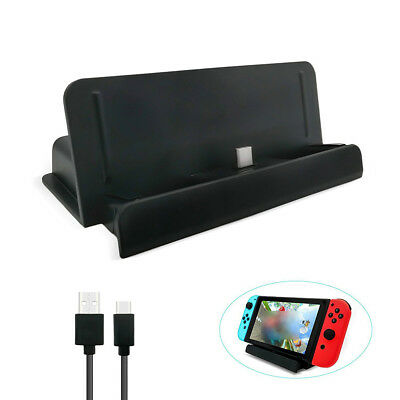 Charging Dock USB Type C Charging Dock Station Cradle Stand For Nintendo Switch