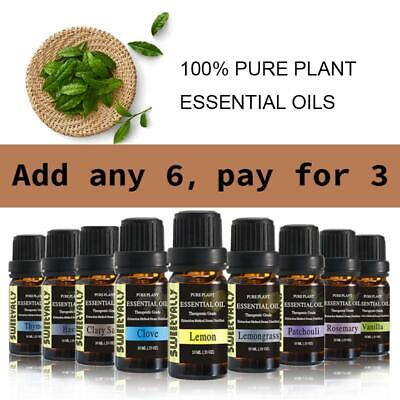 10ML Plant Extracts Pure & Nature Essential Oils Unisex Fragrance Aroma Gift WOW
