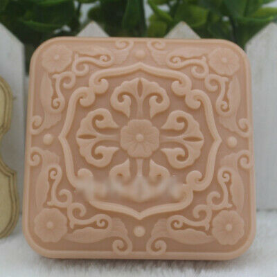 Home DIY Making Craft Handmade Soap Candle Resin Molds Square Mould Silicone