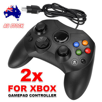 Dual Shock 2 Black Joypad Gamepad Game Controller For Microsoft XBOX PC Original