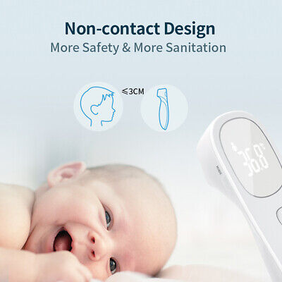 Forehead Infrared Thermometer Baby Kid Body Temperature Measurement Tool Digital