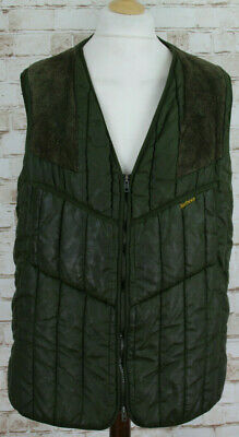 """BARBOUR Keepwerwear HUnting Olive Quilted Waistcoat Gilet Chest size 42"""""""