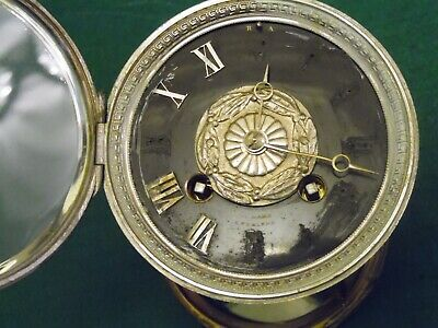 Antique French Clock Movement spare or repair.