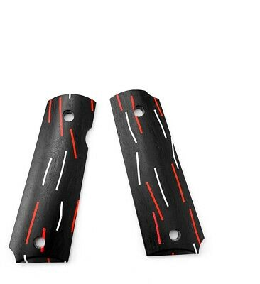 2x Replacement DIY Hand Grips Non-slip Handle Patches Decoration For 1911 Model