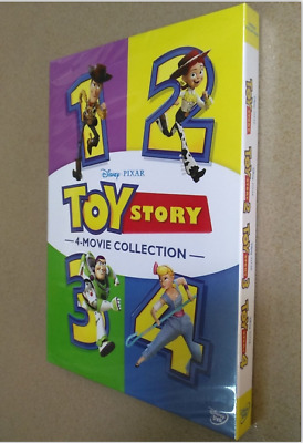 TOY STORY 1-4 Brand New 4-Movie DVD Collection 4 Films  Region 1 Free USA seller