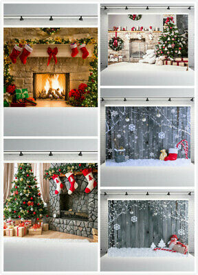 7 x 5 ft Christmas Photo Backdrop Photography Props Background Vinyl For Studio