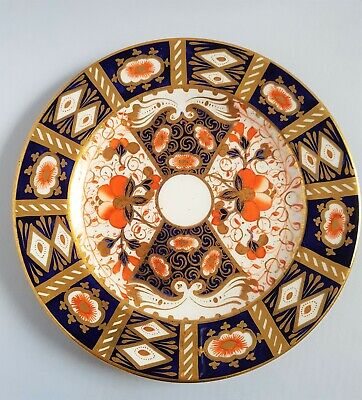 ANTIQUE 1800s IMARI PATTERN 2614 DAVENPORT CHINA Bread Side Afternoon Tea Plate