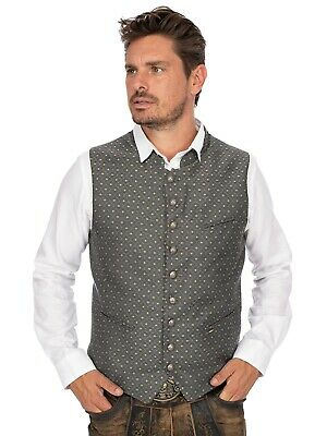 Stockerpoint Traditional Costume Waistcoat Marc Anthracite