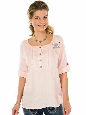 Traditional Costume Blouse Tunic Merida-T Pink