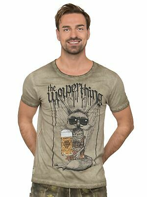 Stockerpoint Traditional Costume T-Shirt Wolperbua Sand