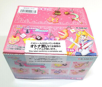 Sailor Moon Crystal - Re-Ment Sweets Mascot Strap Keychain Full Set in OPEN BOX