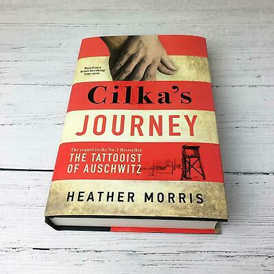 Cilka's Journey: The sequel to The Tattoois by Heather Morris New Hardcover Book